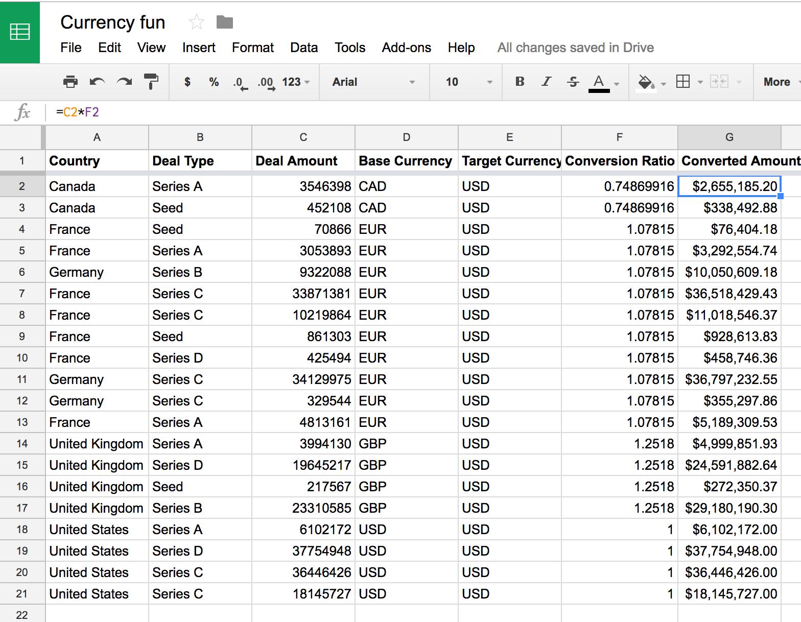 Autogenerating currency conversion formulas in google sheets using screenshot 2017 03 23 175439 buycottarizona